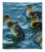 Ducklings Fleece Blanket