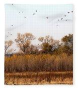 Ducks Unlimited Fleece Blanket