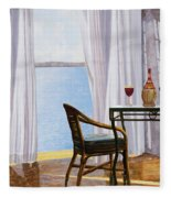 Due Rossi Al Mare Fleece Blanket
