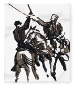 Dueling Sabres Fleece Blanket