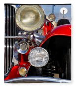 Duesenberg Fleece Blanket