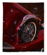 Duesenberg Side View Fleece Blanket