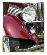 Duesenberg Sj Fleece Blanket