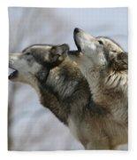 Duet Howl Fleece Blanket