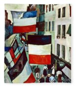 Dufy: Flags, 1906 Fleece Blanket