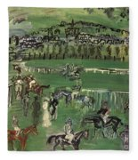 Dufy: Race Track, 1928 Fleece Blanket
