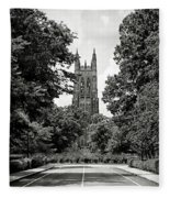 Duke University Chapel Fleece Blanket