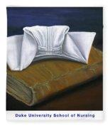 Duke University School Of Nursing Fleece Blanket