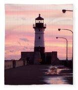 Duluth Sunrise Fleece Blanket