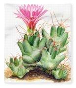 Dumpling Cactus Fleece Blanket