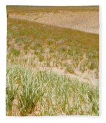 Dune Grass Fleece Blanket