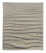 Dune Textures Fleece Blanket