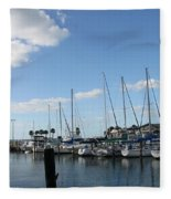 Dunedin Marina I Fleece Blanket