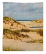Dunes At Gulf Shore Fleece Blanket