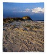 Dunes At St. Simons Island Fleece Blanket