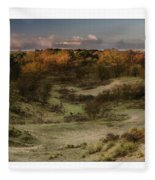 Dunes At Sunrise Fleece Blanket