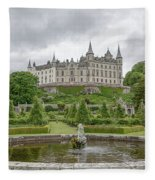 Dunrobin Castle 1325 Fleece Blanket