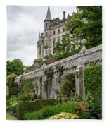 Dunrobin Castle 1352 Fleece Blanket