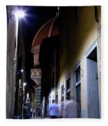 Duomo In The Dark Fleece Blanket
