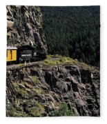 Durango - Silverton Train Fleece Blanket