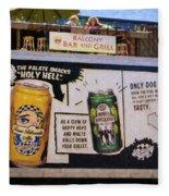 Durango Colorado Brewery Fleece Blanket