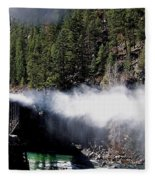 Durango Silverton Blowing Off Steam Fleece Blanket
