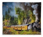 Durango-silverton Narrow Gauge Railroad Fleece Blanket