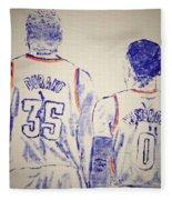 Durant And Westbrook Fleece Blanket