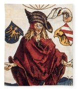 Durers Syphilitic Man Fleece Blanket