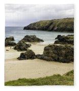 Durness Beach Fleece Blanket