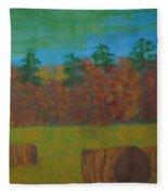 Dusk In The County Fleece Blanket