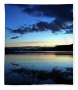Dusk In December Fleece Blanket