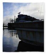 Dusk Seagull 2386 Fleece Blanket