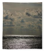 Dusk Sets In Fleece Blanket