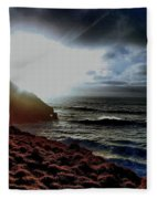 Dusky Fleece Blanket