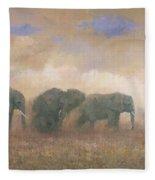 Dust Riders Fleece Blanket