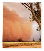 Dust Storm Fleece Blanket