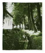 Dutch Canal - Digital Fleece Blanket