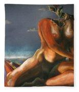 Dutch Landscape Fleece Blanket