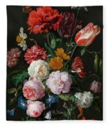 Dutch Still Life #3 Fleece Blanket