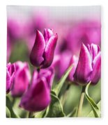 Dutch Tulips 2016 - Part One Fleece Blanket