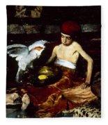 Duveneck: Turkish, 1876 Fleece Blanket