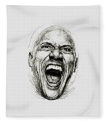 Dwayne The Rock Johnson Fleece Blanket