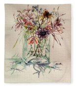 Dying Meadow Fleece Blanket