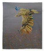 Eagle-abstract Fleece Blanket