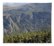 Eagle Cliff - Franconia Notch State Park New Hampshire Fleece Blanket