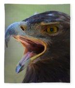 Eagle Cry Fleece Blanket