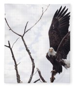 Eagle Fleece Blanket