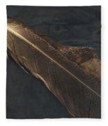 Eagle Feather   -006 Fleece Blanket