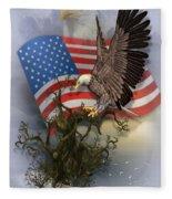 Eagle Lands Fleece Blanket